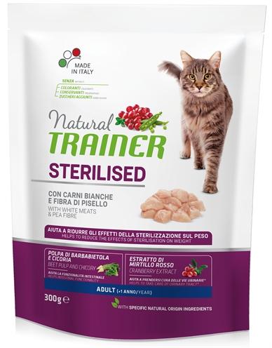 NATURAL TRAINER CAT STERILISED WHITE MEAT