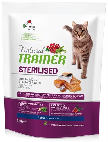 NATURAL TRAINER CAT STERILISED SALMON