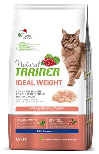 NATURAL TRAINER CAT WEIGHT CARE WHITE MEAT