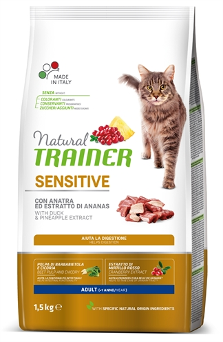 NATURAL TRAINER CAT SENSITIVE DUCK