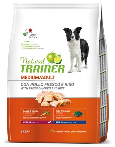 NATURAL TRAINER DOG ADULT MEDIUM CHICKEN / RICE