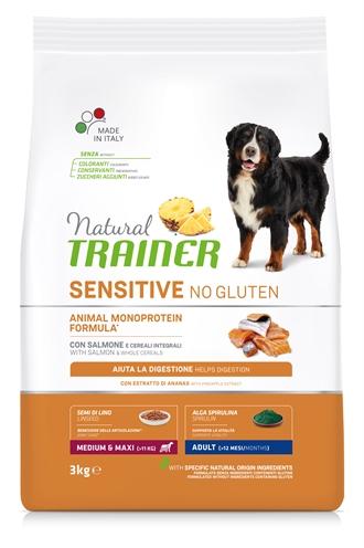 NATURAL TRAINER DOG ADULT MEDIUM / MAXI SENSITIVE SALMON
