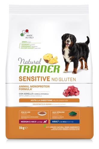 NATURAL TRAINER DOG ADULT MEDIUM / MAXI SENSITIVE LAMB