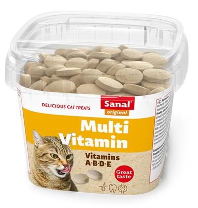 SANAL CAT MULTI VITAMIN SNACKS CUP