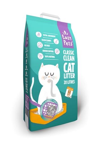 EASYPETS CLASSIC CLEAN CATLITTER KATTENBAKVULLING