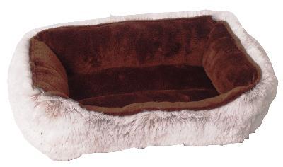 DIVAN HAMSTER BED PLUCHE BRUIN