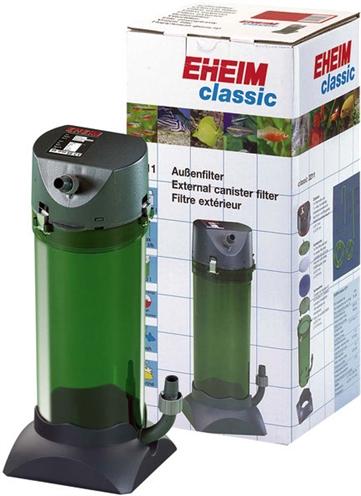 EHEIM CLASSIC 250 BUITENFILTER ZONDER FILTERMASSA