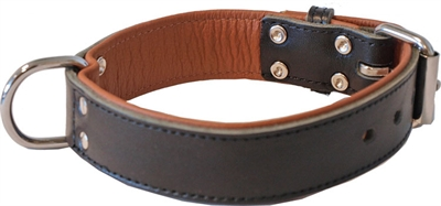 HALSBAND BREED LUXE DONKERBRUIN