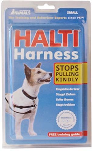 HALTI HARNESS ROOD/ZWART