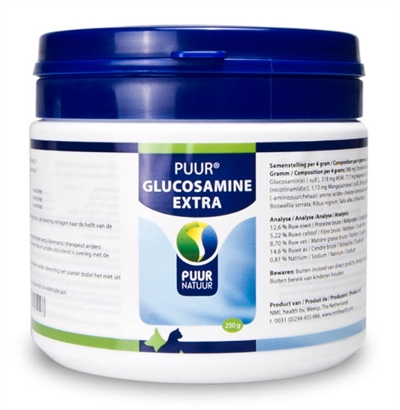 PUUR NATUUR GLUCOSAMINE EXTRA (COMPLEET)