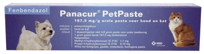 PANACUR PET PASTA INJECTOR